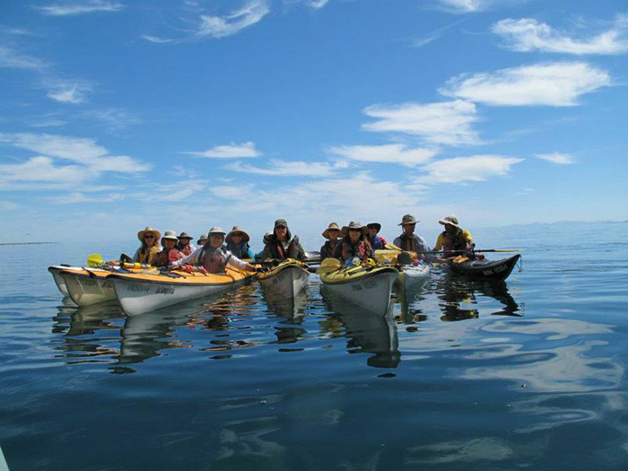 Baja Kayaking Meditation Retreat